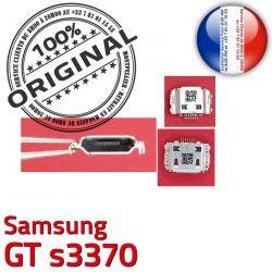 souder Samsung ORIGINAL charge Connecteur Portable Pins GT Dock Flex Micro Connector USB s3370 à de Chargeur Dorés C Prise
