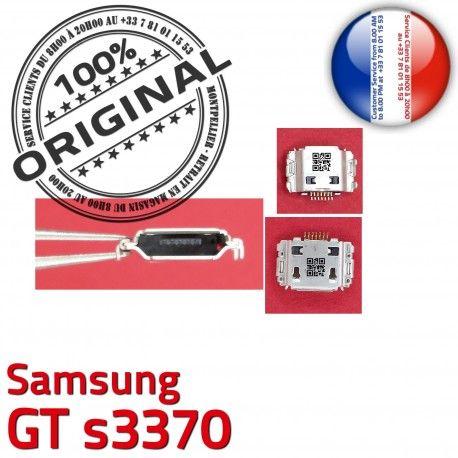 Samsung GT s3370 C de Portable souder à ORIGINAL Connecteur Chargeur Pins Flex Micro Dock Dorés Prise Connector USB charge