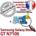 Samsung Galaxy NOTE2 GT N7105 C MicroUSB ORIGINAL Chargeur Nappe OFFICIELLE Charge Connecteur Prise RESEAU Microphone Qualité Antenne