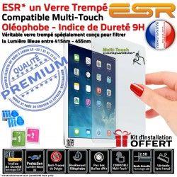 Protection Apple 9H Multi-Touch Filtre Vitre Bleue Trempé Ecran Verre Anti-Rayures UV A1430 3 iPad Chocs Lumière ESR Oléophobe
