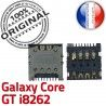 Samsung Galaxy Core GT i8262 S Connecteur à Carte souder Card Pins ORIGINAL Connector Dorés SIM Lecteur Contacts Reader SLOT