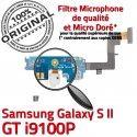 Samsung Galaxy S2 GT i9100P C Connecteur RESEAU Nappe Qualité OFFICIELLE Microphone Chargeur ORIGINAL Prise Antenne MicroUSB Charge
