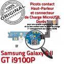 Samsung Galaxy S2 GT i9100P C Microphone Qualité Connecteur ORIGINAL MicroUSB Chargeur Antenne OFFICIELLE Prise Charge Nappe RESEAU