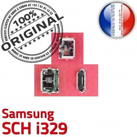 Samsung SCH i329 C Connector de Pins à Prise Connecteur Portable souder USB Dock charge ORIGINAL Chargeur Micro Flex Dorés