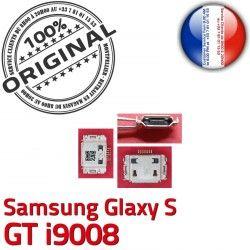 de C souder Samsung Chargeur Flex S GT Prise à Dock Connector i9008 ORIGINAL Pins charge Galaxy Micro Connecteur USB Dorés