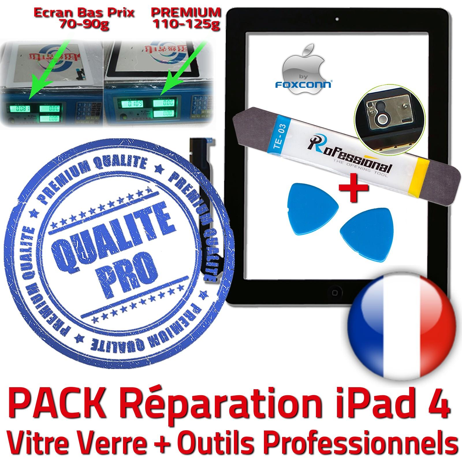 PACK de réparation Apple iPad 4 Retina Quatrième Génération