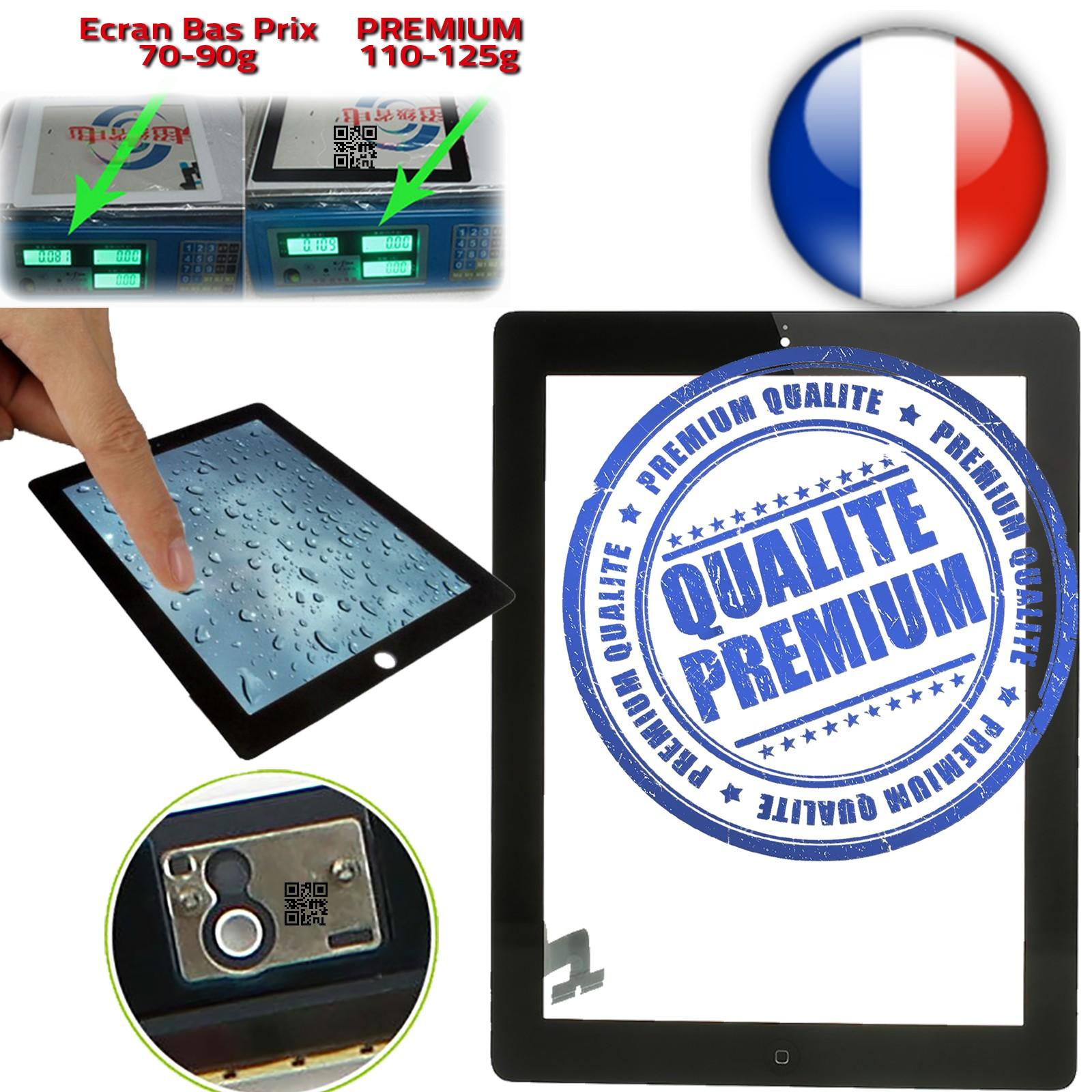 Vitres en Verre PREMIUM Apple iPad 2 Deuxième Génération