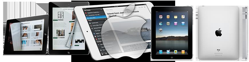 Vitres en Verre PREMIUM (Apple iPad 2) (Deuxième Génération)
