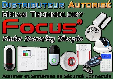 Distributeur Autorisé Alarmes et Systèmes de Sécurité Meian Technology